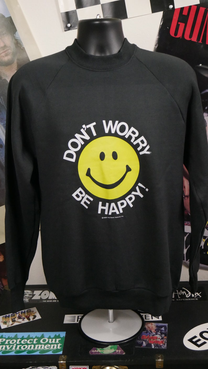 131c874df 1988 Don't Worry Be Happy Classic 80's Bobby McFerrin | Etsy