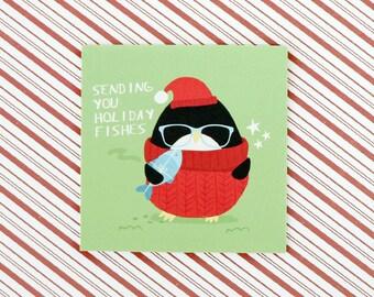 Christmas Sending you Holiday Fishes