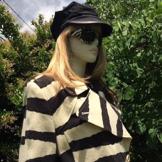 Vintage 80s zebra print coat | Spiegel - image 1
