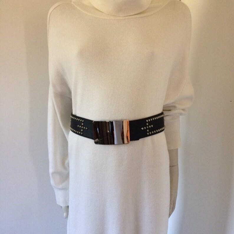 Vintage 80s rocker studded belt