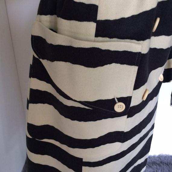 Vintage 80s zebra print coat | Spiegel - image 8
