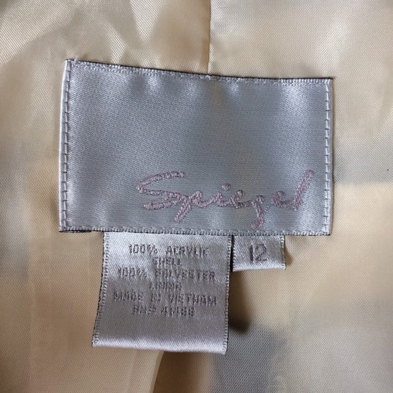 Vintage 80s zebra print coat | Spiegel - image 9