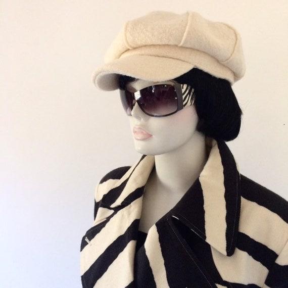 Vintage 80s zebra print coat | Spiegel - image 3