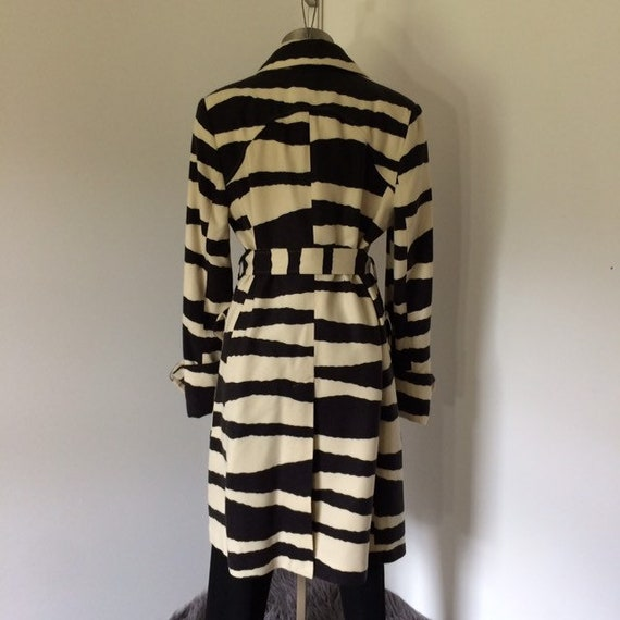 Vintage 80s zebra print coat | Spiegel - image 7