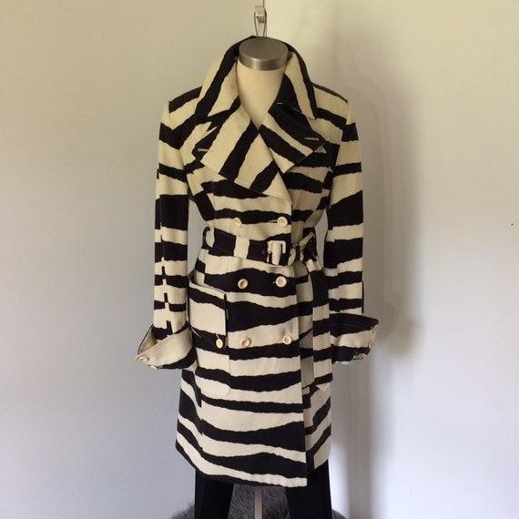 Vintage 80s zebra print coat | Spiegel - image 5