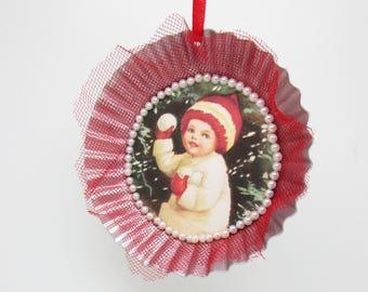 Tart Tin Ornament