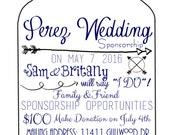 wedding sponsorship letter