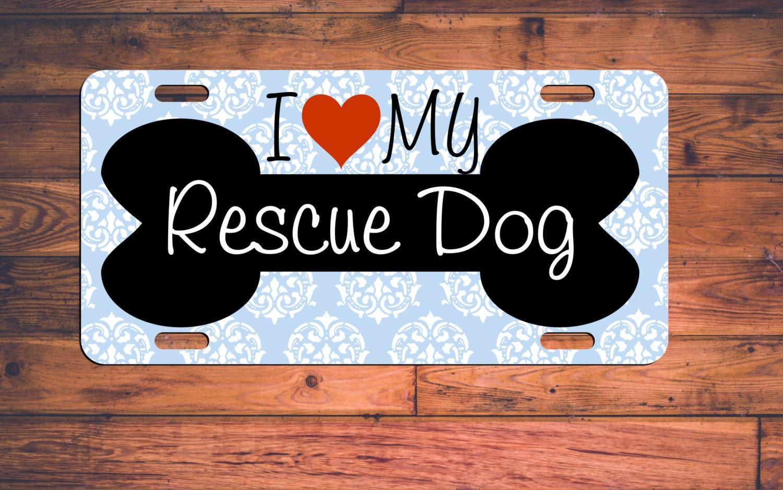 sauvetage chien plaque d 39 immatriculation sauvetage chien. Black Bedroom Furniture Sets. Home Design Ideas