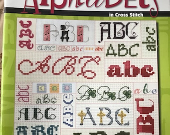 Alphabet Patterns for Cross Stitch Craftbook