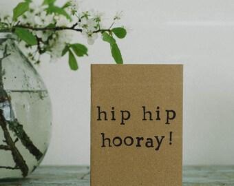 Hip Hip Horray! Card