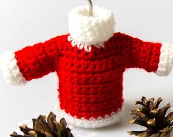 8f5d7700d04be3 Crochet Pattern Sweater Crochet Amigurumi Pattern Christmas Decor Christmas  Ornaments Pattern Crochet Pattern Christmas Crochet P009
