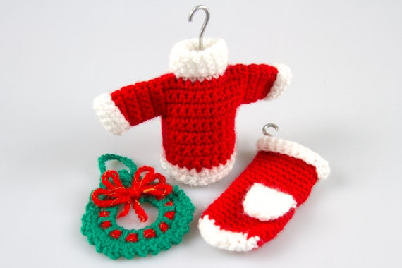 Free Crochet Pattern Amigurumi Christmas Crochet Patterns Etsy