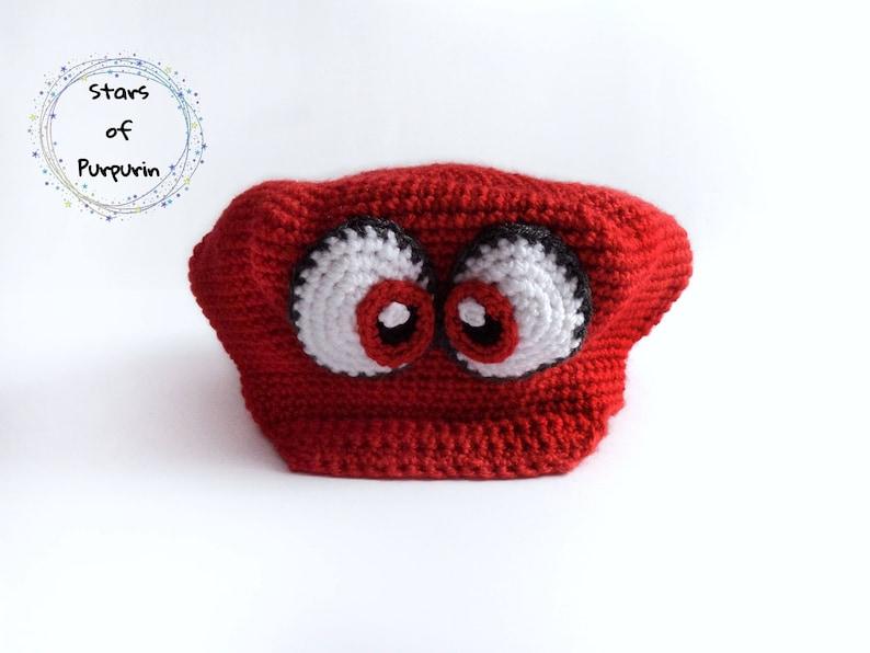 Super Mario Odyssey Cappy Hat inspired - Mario Bros - Mario Bros Hat, Mario  Gift, Geek Gift, Nintendo, Nintendo Switch, Mario Bros Costume