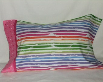 The Oasis Hand-Embroidered Chain Stitch Custom Colors Sizes Rectangle Square Pillow Cushion Cover-Euro Sham Floral Unique Gift For Her Him