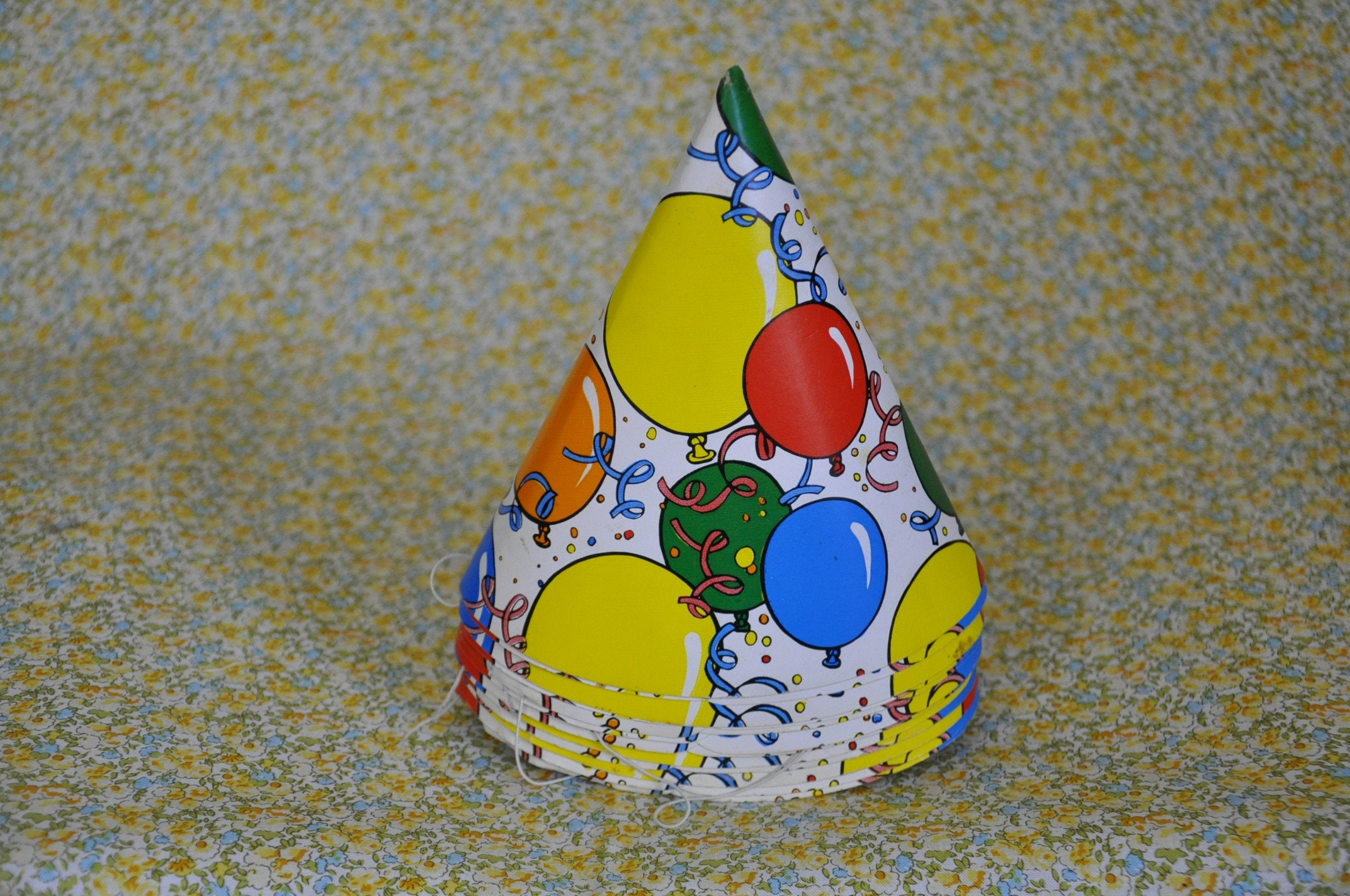 Vintage Set Of Party Hats