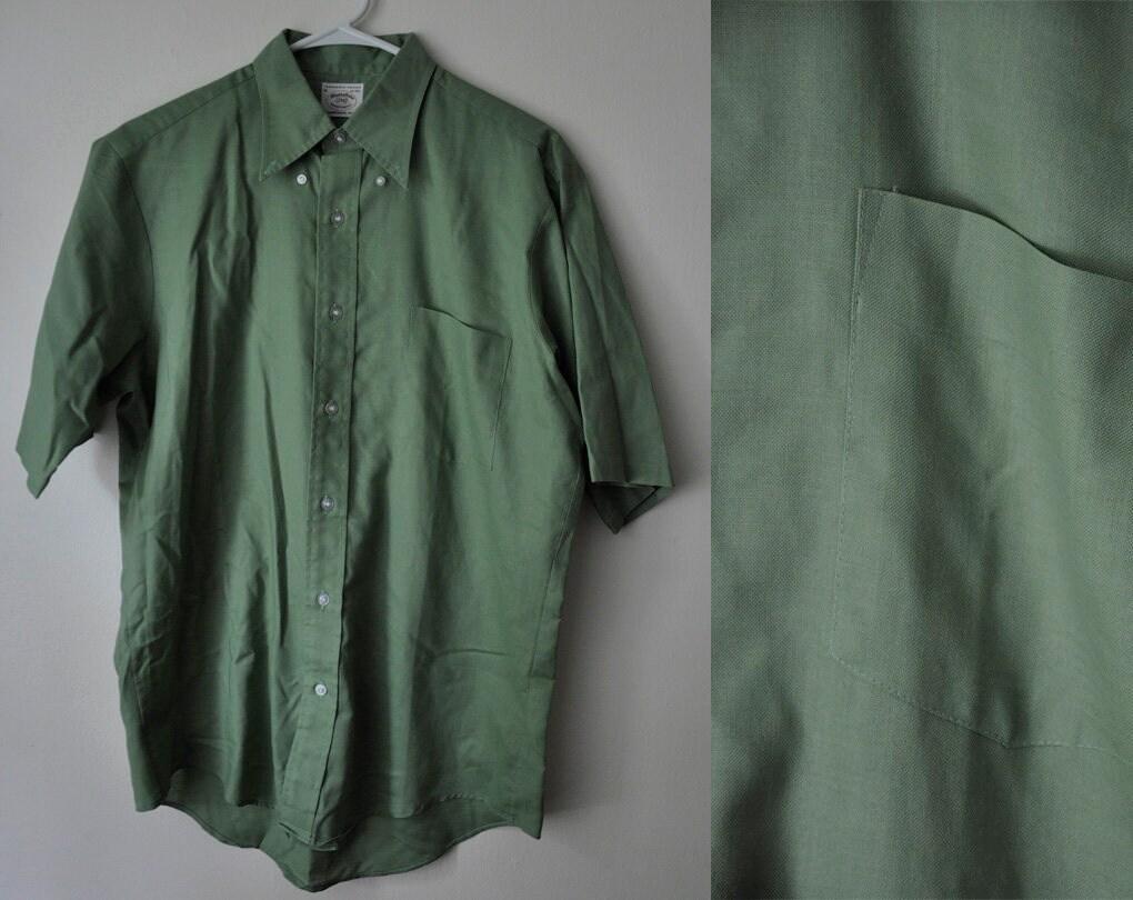 3b309f9f Green Button Down Polo Shirts | Top Mode Depot