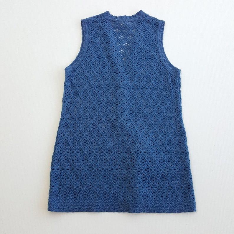 Extra Long St Michael Vintage 70s Sweater Vest
