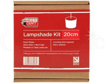 20cm Drum Lampshade kit