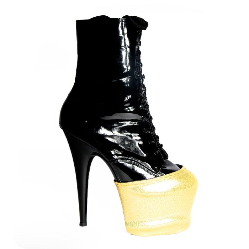 Wink Reversible Pleaser Platform Shoe Protectors various colours