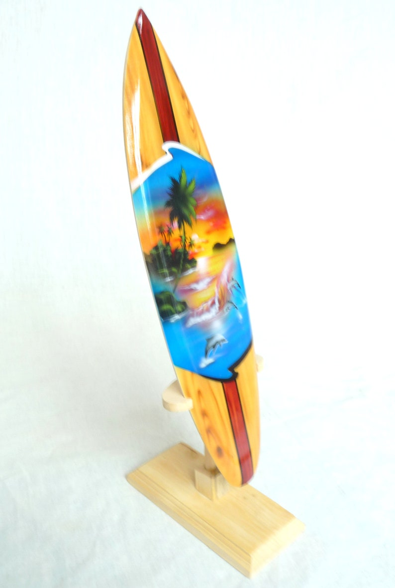Deco Planche De Surf miniature surfboard dekosurfboard surf surfing wave riding decoration