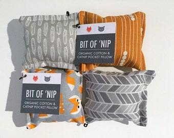 Organic Cat Toy - Bit of 'Nip - Organic Cotton & Catnip
