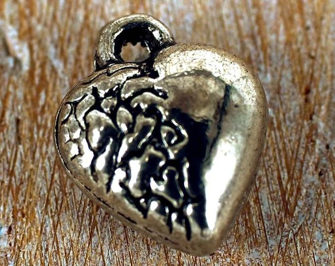 100  X  Jewellery Making LEAF pendant Charms Charm Bracelet PE12