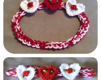 Hearts and Roses Headbands