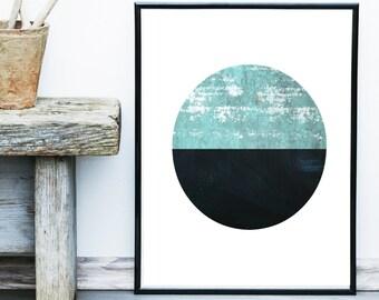 Minimalist Poster, Printable Art, Abstract Art, Geometric Art Print, Scandinavian Art,  Modern Art, Wall Decor, Wall Art, Instant Download