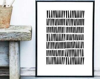 Abstract Art, Printable Art, Geometric Art Print, Scandinavian Art, Mid Century print, Modern Art, Wall Decor, Wall Art, Digital Download