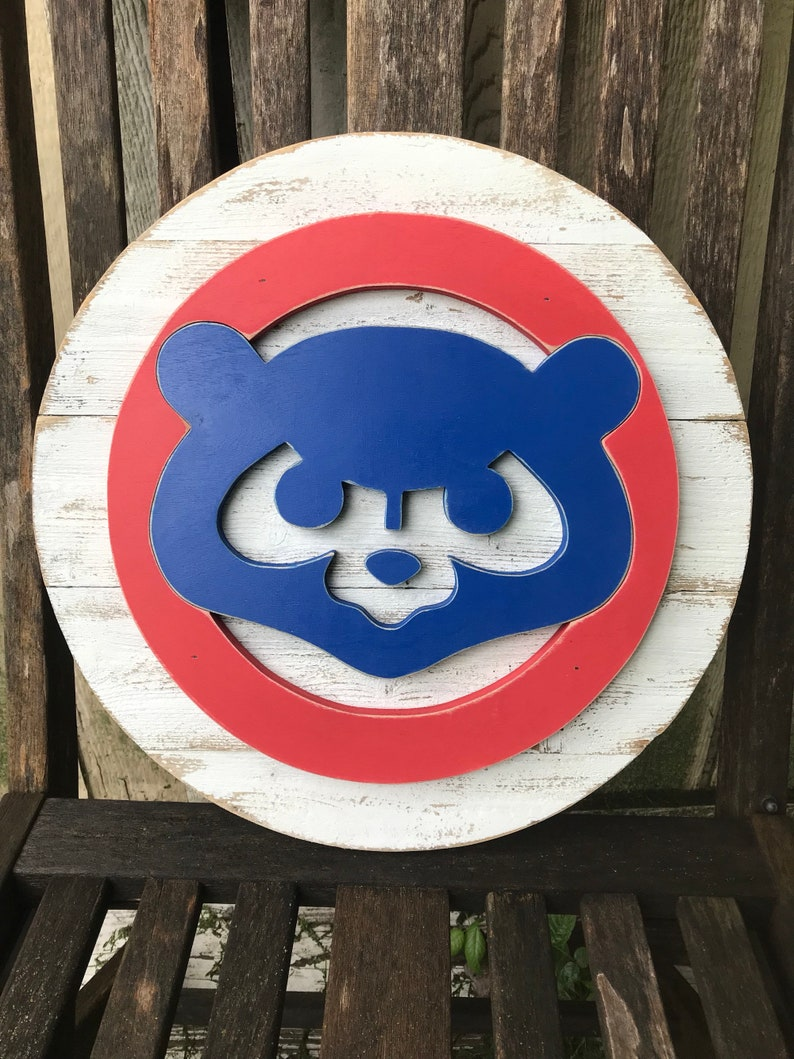 Pallet Chicago Cubs Sign World Series Champs Pallet Sign Chicago Sports Mlb Wood Sign Rustic Home Decor Cubby Bear
