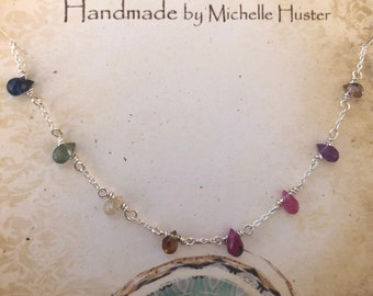 Gorgeous Faceted Amethyst Natural Gemstone Simple Pendant Gift Vintage Jewelry Gemstone Handmade Ethnic 925 Sterling Silver Pendant 3.8 CM