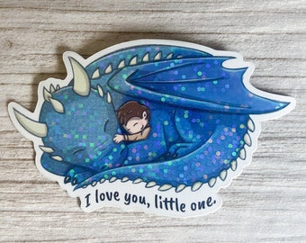 I Love You Little One Sticker