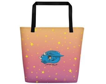 I Love You Little One Beach Bag