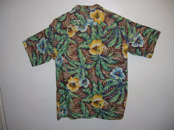 Vintage 1950's Hawaiian Cotton Shirt - image 2