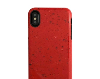 Tango Red Marble Case for iPhone X - Elemental Cases