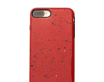 Tango Red Marble Case for iPhone 8 Plus / 7 Plus - Elemental Cases