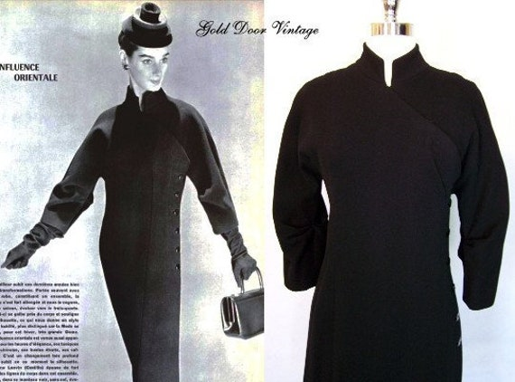 Documented 50s MADAME GRES French Couture Cashmere