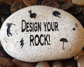 engraved stone etsy