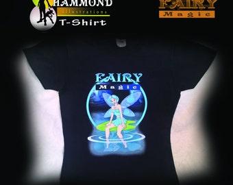 Water Fairy  Childrens T-shirt