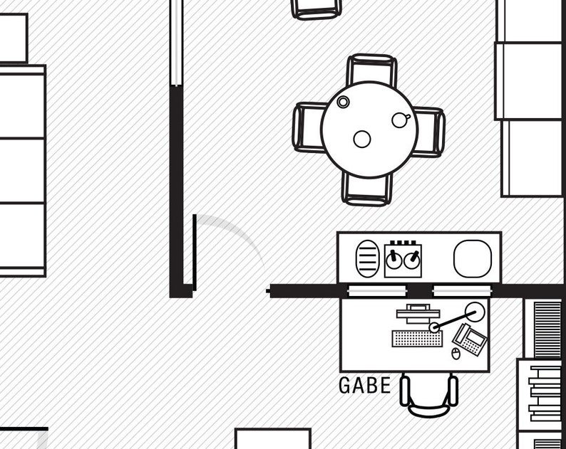 The Office Floor Plan The Office Tv Show The Office Poster