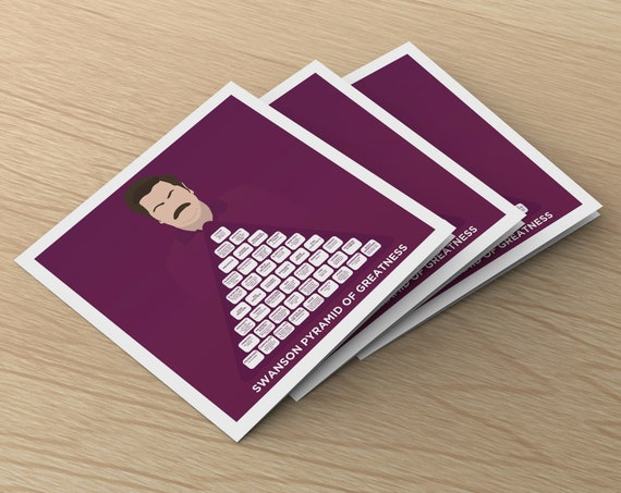 It's just a picture of Ron Swanson Pyramid of Greatness Printable Version with regard to wife