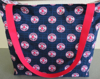 Boston Red Sox's Baseball reusable Grocery / Shopping Bag / Tote