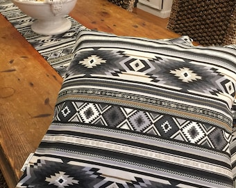 Cushion Covers, Aztec Design, Quality Upholstery Cotton, Hand Made,Various Sizes