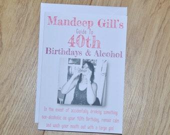 Friend Card, Friendship Card, Friend Card, Card for Friend, Alcohol, Alcohol Card, Birthday Card, BFF Card, Handmade Card, BFF, Humour