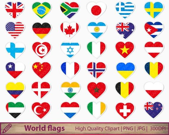 banderas pequeñas