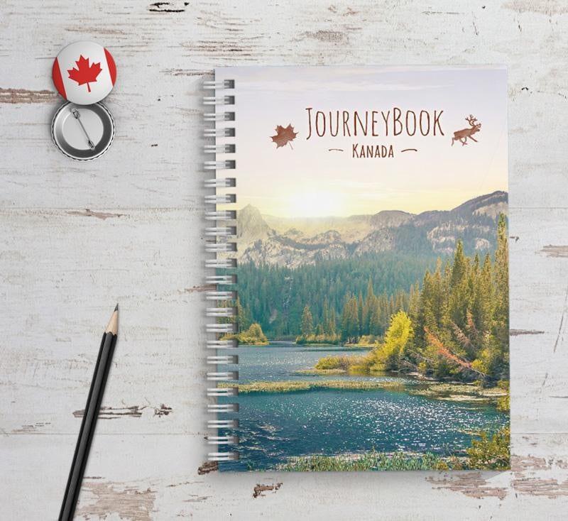 Kanada Reisetagebuch Abschiedsgeschenk für Reise oder zum | Etsy