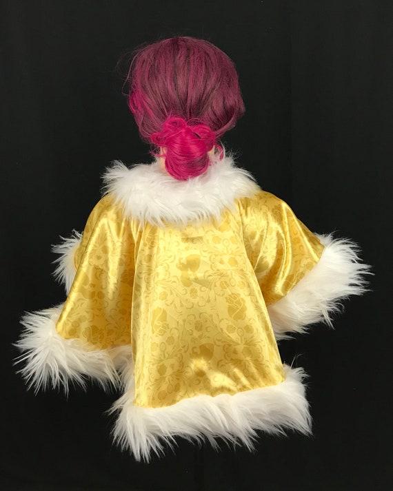 économies fantastiques vente chaude réel meilleure qualité pour Capelet Cape manteau inspiré par la Belle et la bête, doublé en polaire  adulte de princesse