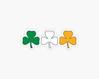 Celtic Shamrock vinyl sticker decal Irish lucky trinity catholic Boston Dublin