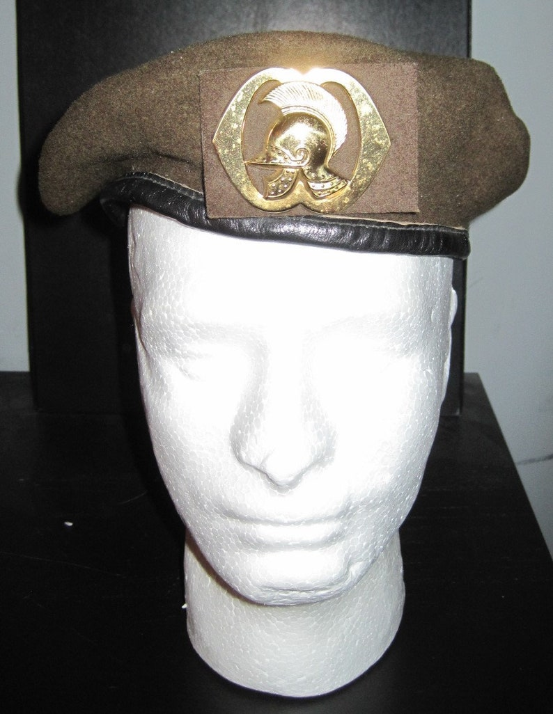 NETHERLANDS ARMY Military ENGINEERS Beret Sz 57