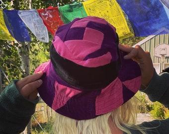 Corduroy Patchwork Bucket Hat